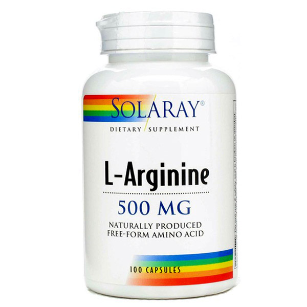 L-ARGININE 500 mg (100 cápsulas)