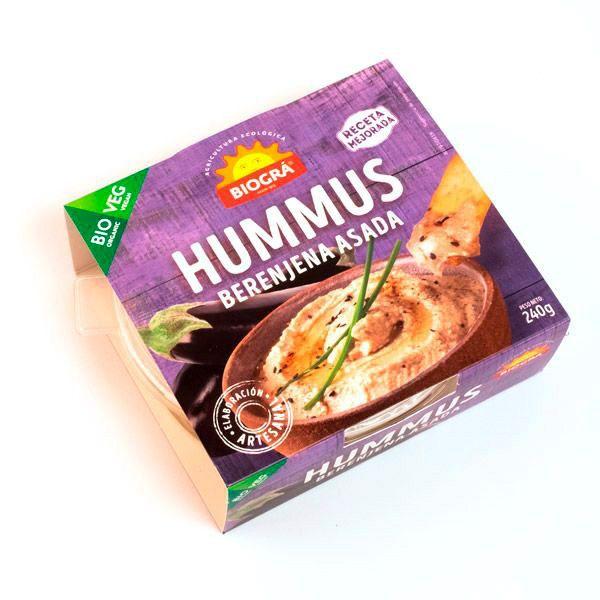 Hummus BERENJENA ASADA bio (240 g)