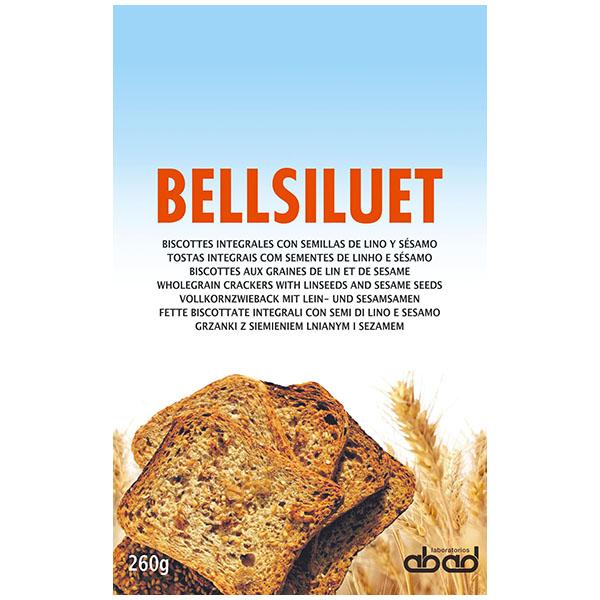 BELLSILUET Biscotes de lino y sésamo (260 g)