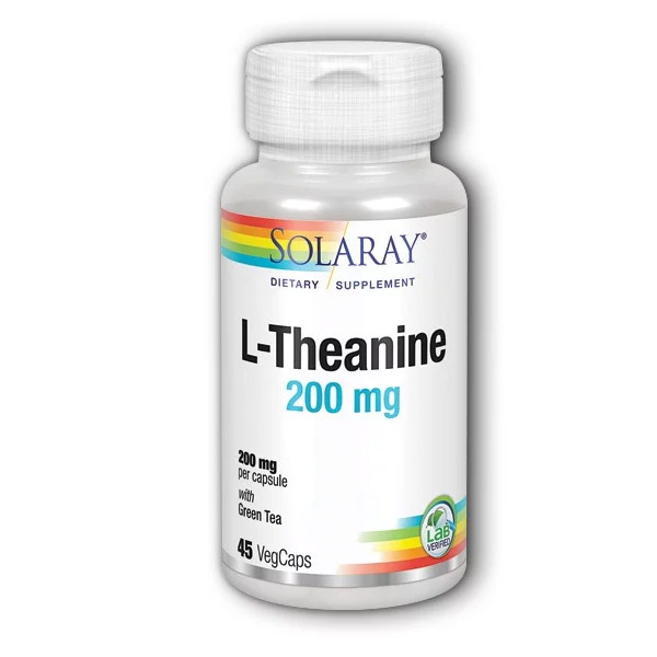 L-THEANINE 200 mg. (45 cápsulas)