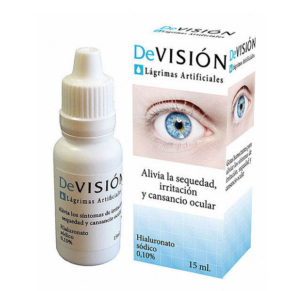 DEVISION LAGRIMAS ARTIFICIALES (15 ml)