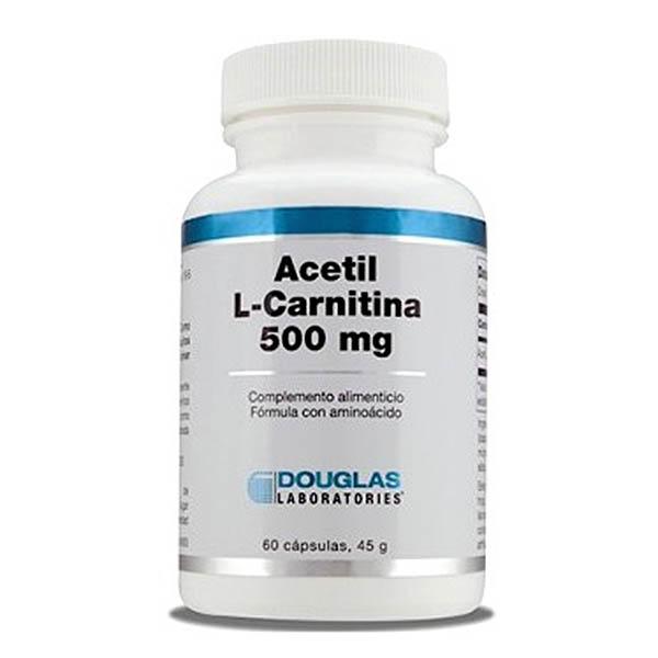 ACETIL L-CARNITINA 500 mg (60 cápsulas)