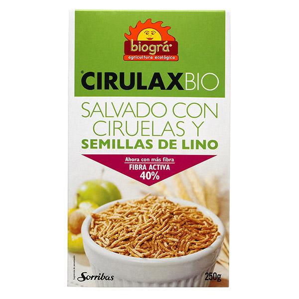CIRULAX  (Salvado, lino y ciruela) bio (250 g)