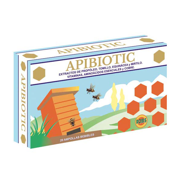 APIBIOTIC (20 ampollas)