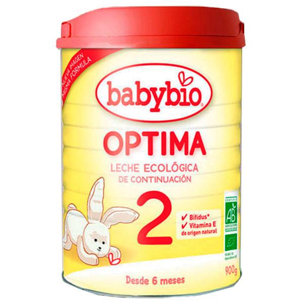 BABYBIO OPTIMA LECHE 2 Continuación bio (900 gr.)