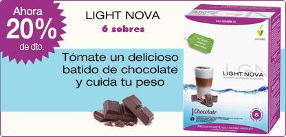 BATIDO LIGHT NOVA Chocolate (6 sobres)