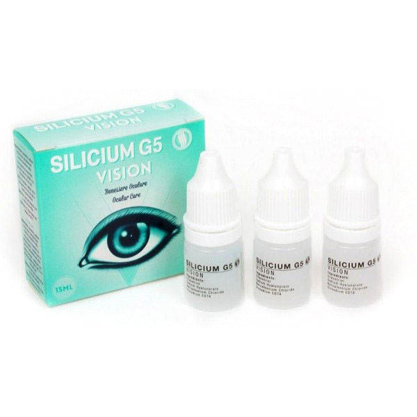 SILICIUM G5 VISIÓN Monodosis (3 X 5ml.)