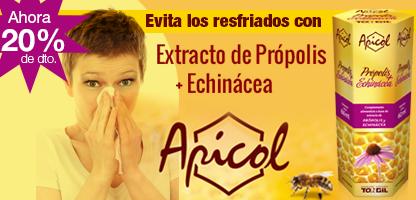 APICOL EXTRACTO Própolis + Echinacea (60 ml.)