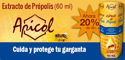 APICOL EXTRACTO de Própolis - propóleo (60 ml.)