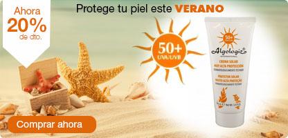 Crema solar FACTOR 50 (100 ml)