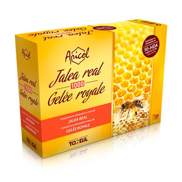 APICOL Jalea real 1000 (20 viales)