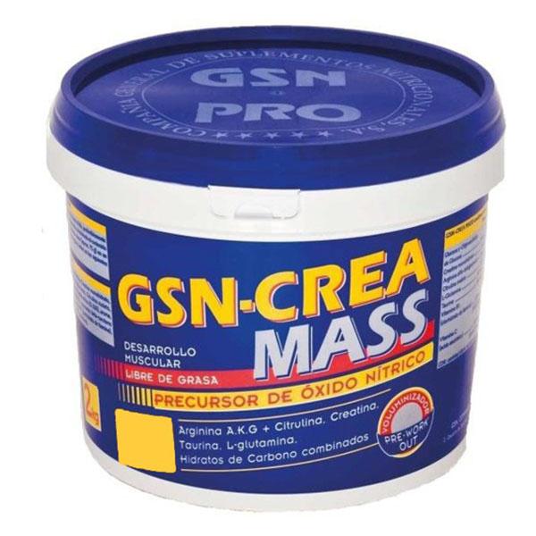 GSN - CREA MASS  Sabor naranja (2 kg.)