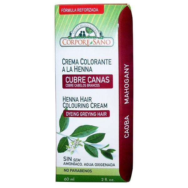 CUBRE CANAS HENNA Caoba (60 ml.)