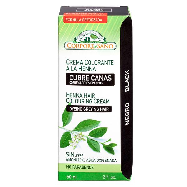CUBRE CANAS HENNA Negro (60 ml.)