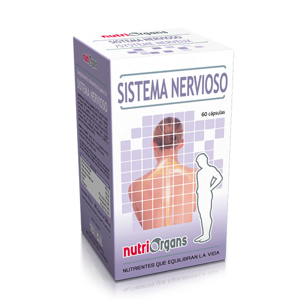 NUTRIORGANS Sistema Nervioso (60 cápsulas)