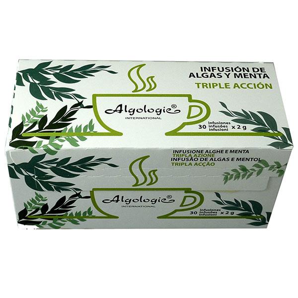 INFUSIÓN Algas + Menta (30 Sobres)