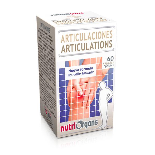 NUTRIORGANS Articulaciones (60 cápsulas)