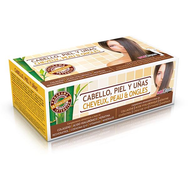 NUTRIORGANS Cabello, piel y uñas  (14 viales)