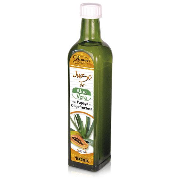 VITALOE  JUGO de Aloe Vera + Papaya (500 ml.)