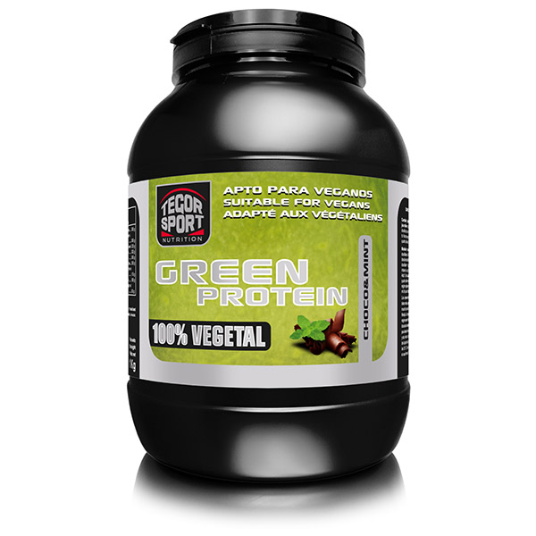 GREEN PROTEIN Chocolate-menta (1Kg.)