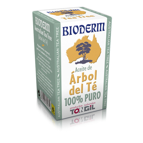 BIODERM-Aceite de árbol del té-100% puro (15 ml.)