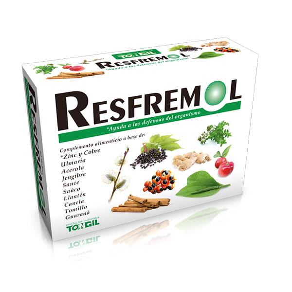 RESFREMOL (12 sobres)