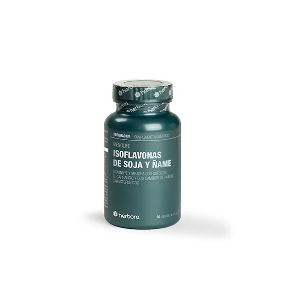 MENOLIFE- Isoflavonas de soja y ñame (60 cápsulas)