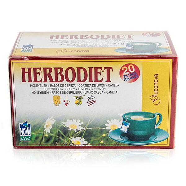HERBODIET Gluconova (20 filtros)