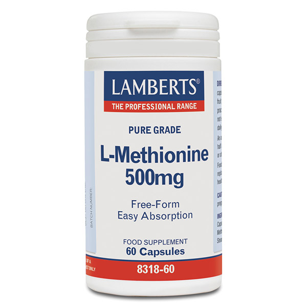 L-METIONINA 500 mg (60 cápsulas)