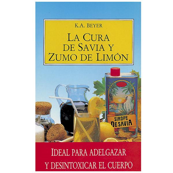 LIBRO - SIROPE La cura de savia y zumo de limón