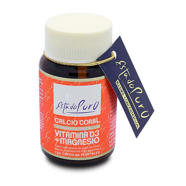 CALCIO CORAL Vit D3 + Magnesio (120 cápsulas)