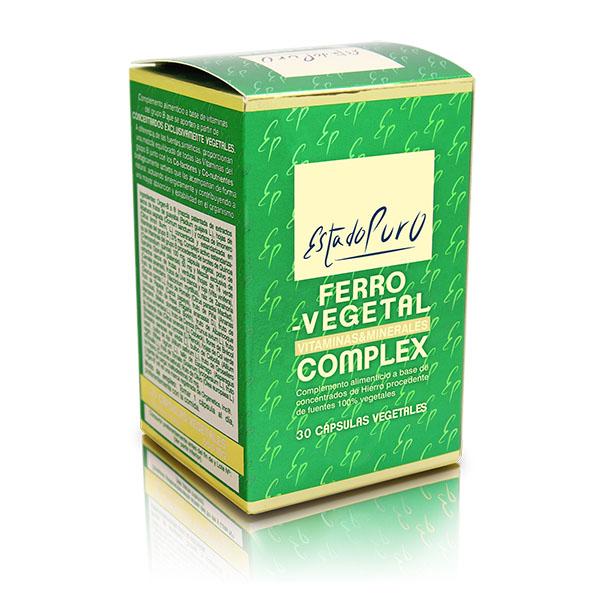 FERRO VEGETAL Complex (30 cápsulas)