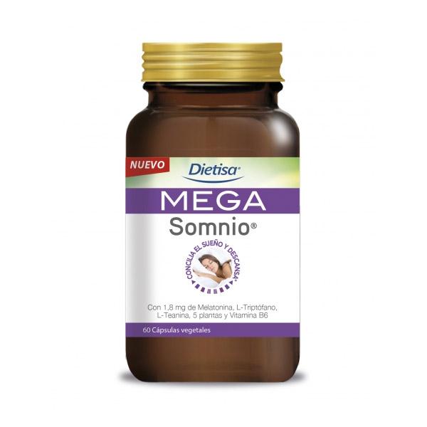 MEGA SOMNIO (60 cápsulas)