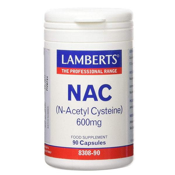 NAC (N Acetil Cisteina) 600 mg.  (90 cápsulas)
