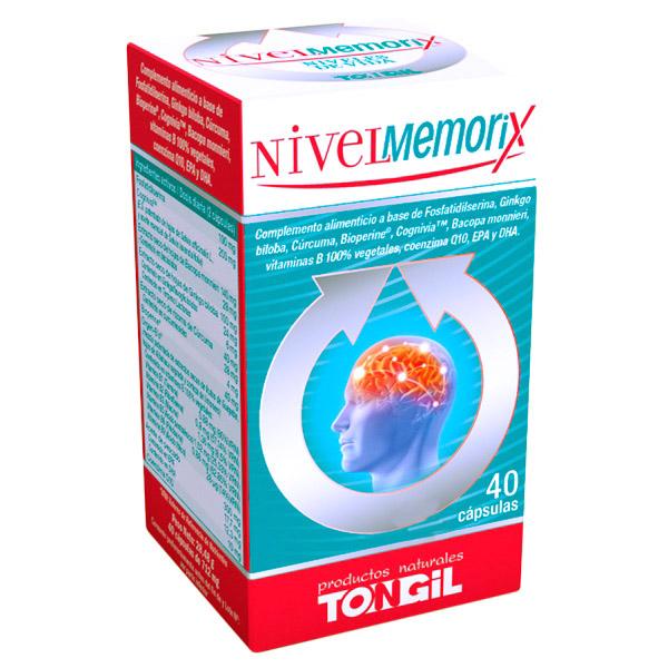NIVELMEMORIX (40  cápsulas)