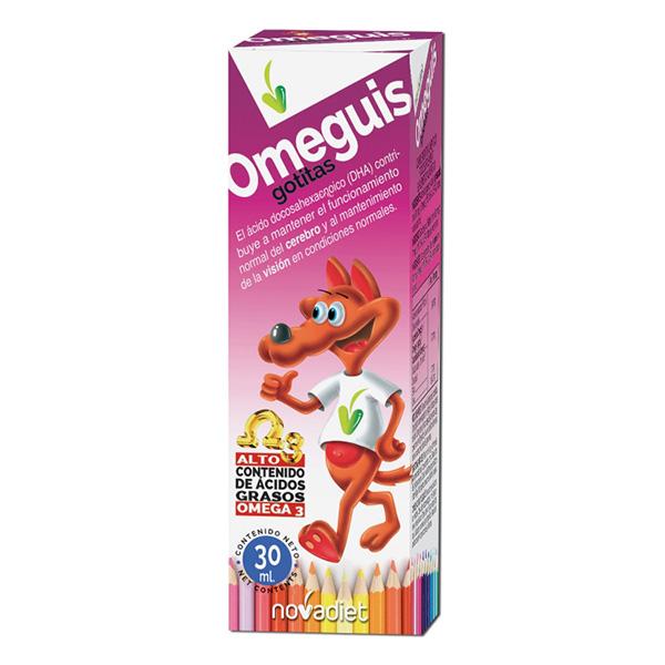 Omega 3 Infantil Omeguis Gotitas 30 Ml Hiperactividad Infantil Tdh