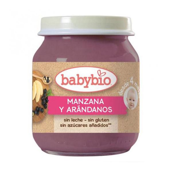 BABYBIO MANZANA  ARANDANO bio (130 gr.)