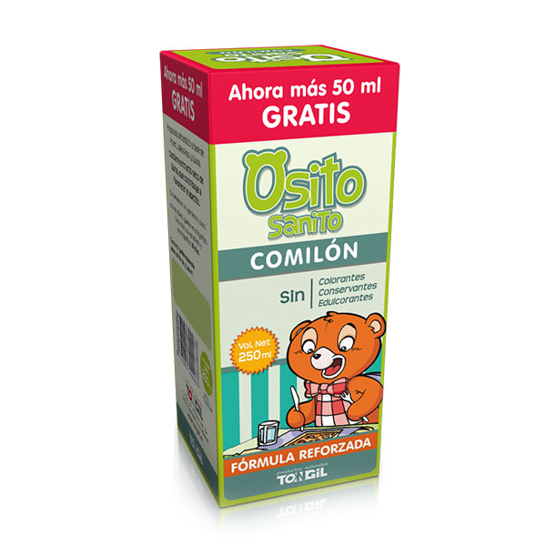 OSITO SANITO Comilón (250 ml.)