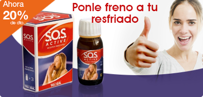 S.O.S. ACTIVE (3 X 60 ml.)