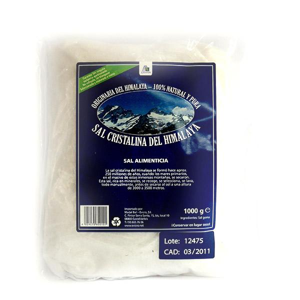 SAL CRISTALINA Himalaya - Molida blanca (1 kg.)