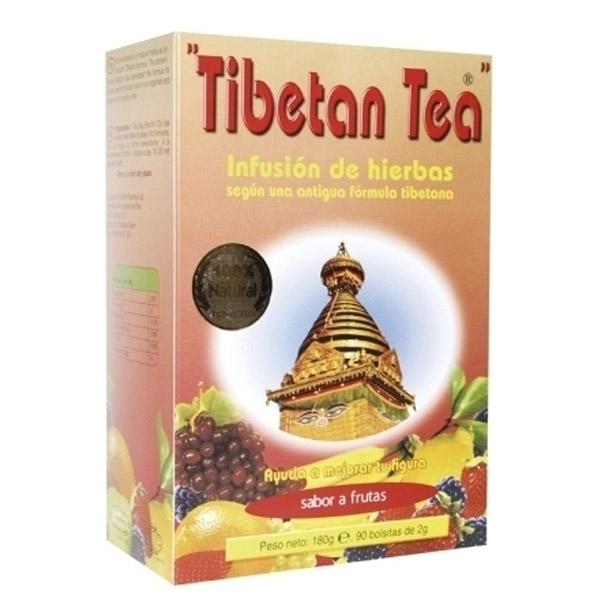 Té TIBETANO - Sabor frutas (90 filtros)