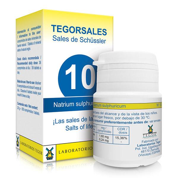 TEGORSAL 10 Natrium Sulphuricu (350 compr.)