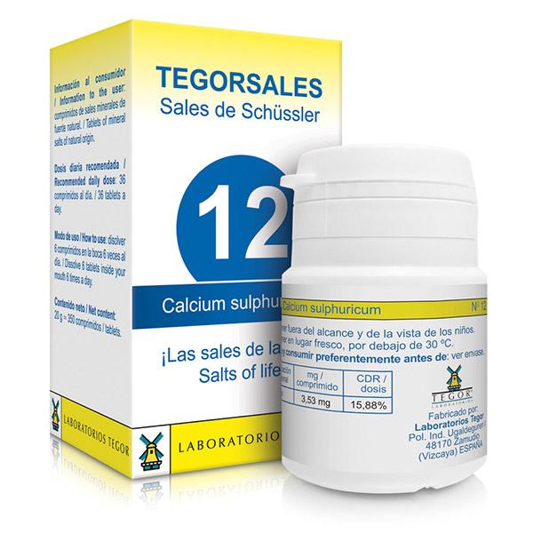 TEGORSAL 12 Calcium Sulphuricu (350 compr.)