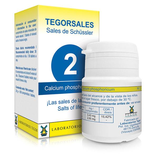 TEGORSAL 2 Calcium Phosphoricum (350 compr.)
