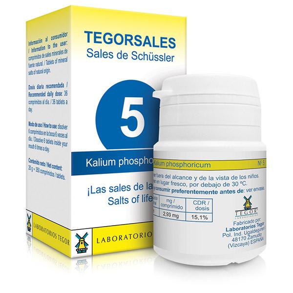 TEGORSAL 5 Kalium phosphoricum (350 compr.)