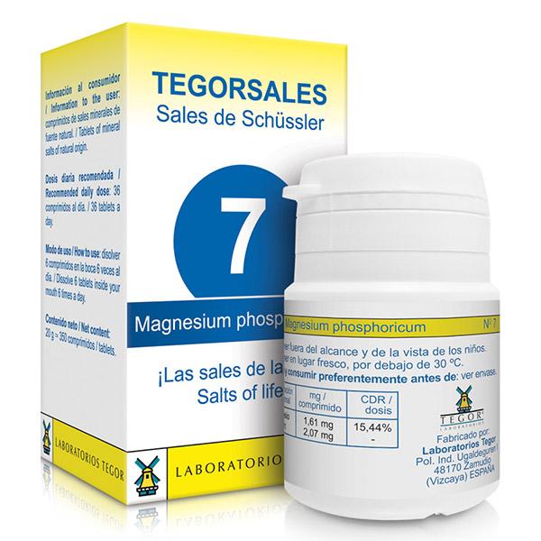 TEGORSAL 7  Magnesium Phosphoricum (350 compr.)