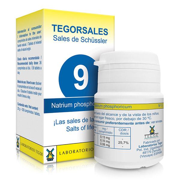TEGORSAL 9 Natrium Phosphoricu (350 compr.)