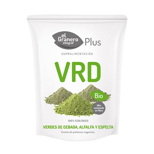Verdes de Espelta, Cebada y Alfalfa BIO (200 gr.)