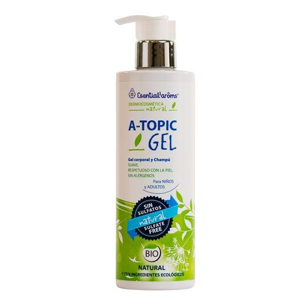 A-TOPIC GEL- Gel corporal y champú bio (400 ml.)