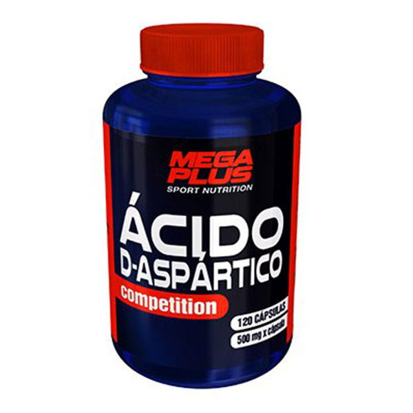 ACIDO D-ASPARTICO (120 cápsulas)
